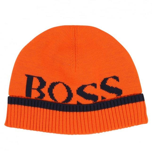 Baby Orange Branded Knitted Hat