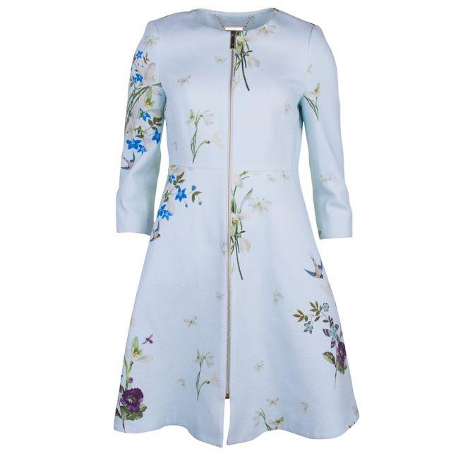 Womens Baby Blue Racheel Spring Meadow Coat