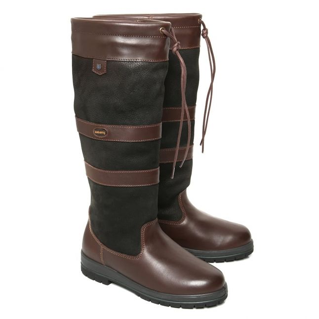 Galway ExtraFit™ Black & Brown Boots