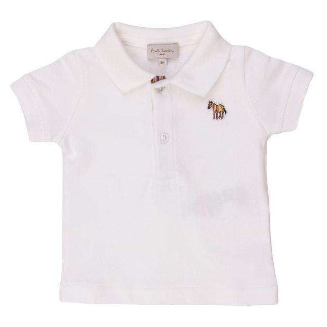 Baby White Naldrin Polo