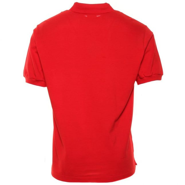 Mens Red Classic L.12.12 S/s Polo Shirt
