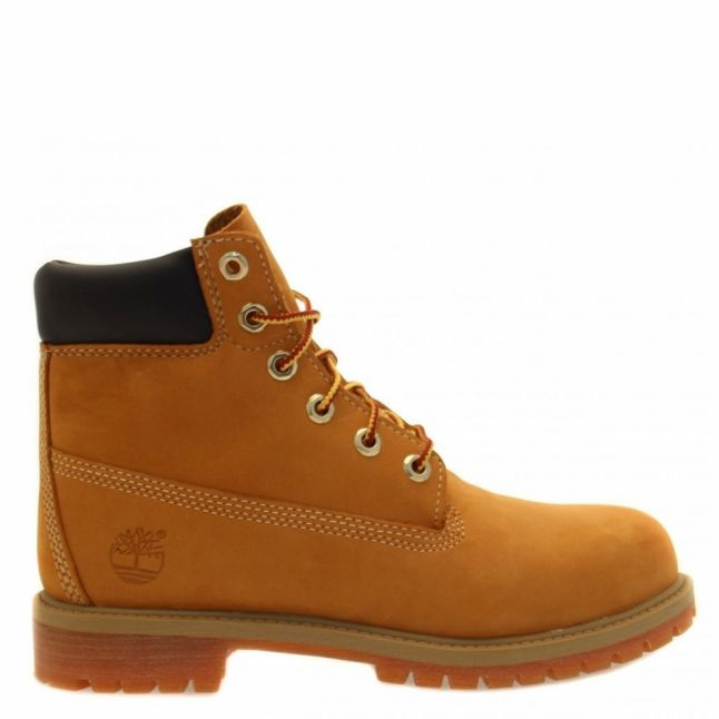 Youth Wheat Classic 6 Inch Premium Boots (12-2)