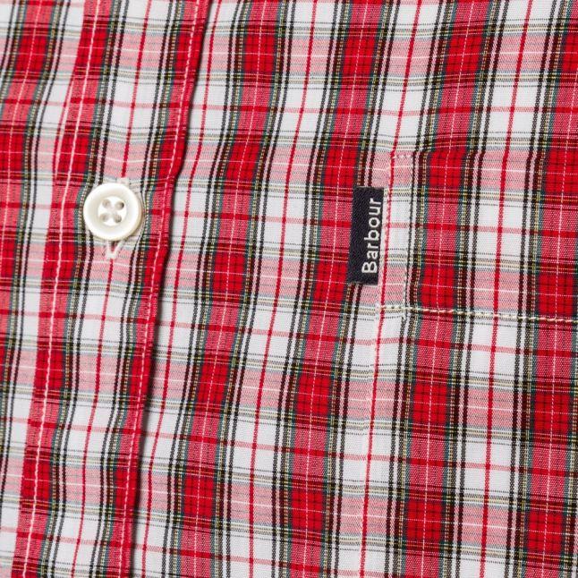 Lifestyle Mens White Allenhead S/s Shirt