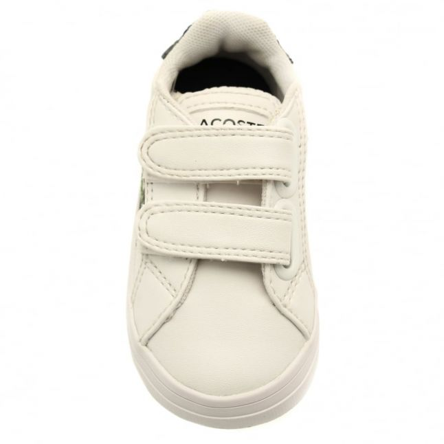 Infant White & Navy Fairlead Trainers (3-9)