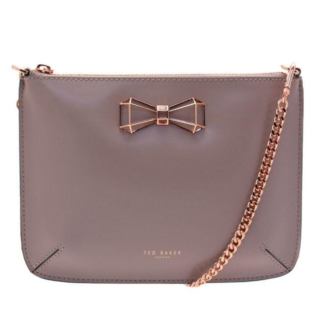 Womens Mid Purple Gretaa Geometric Cross Body Bag