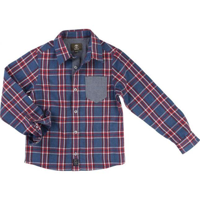 Boys Assorted Check L/s Shirt