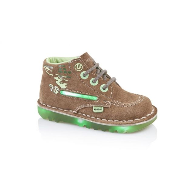 Infant Light Brown Kick Hi Yoda Lightsaber (5-11)