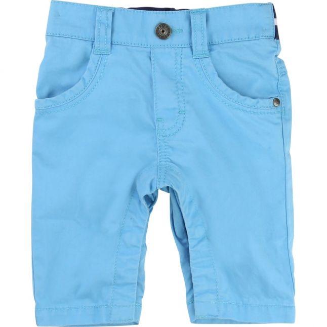 Boys Blue Chino Trousers