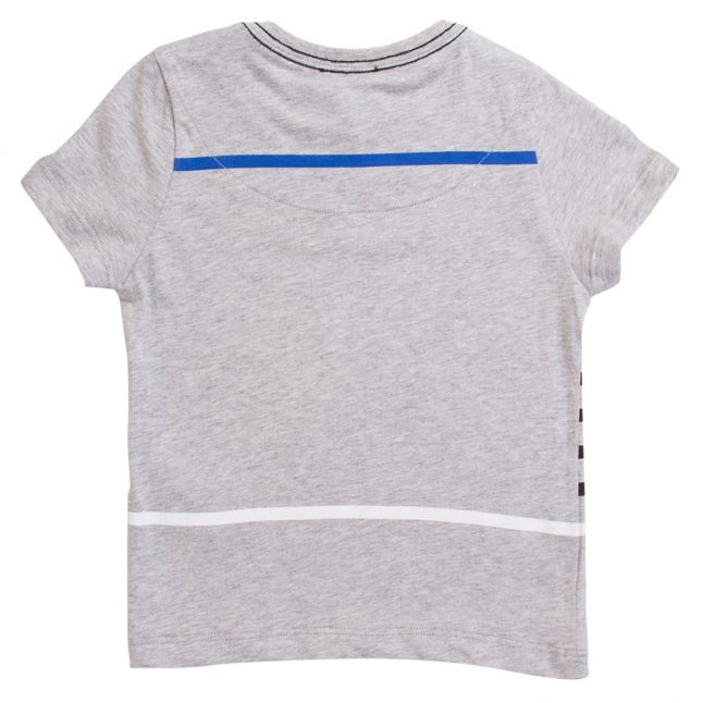 Karl Lagerfeld Boys Grey Heather Stripe Tee Shirt