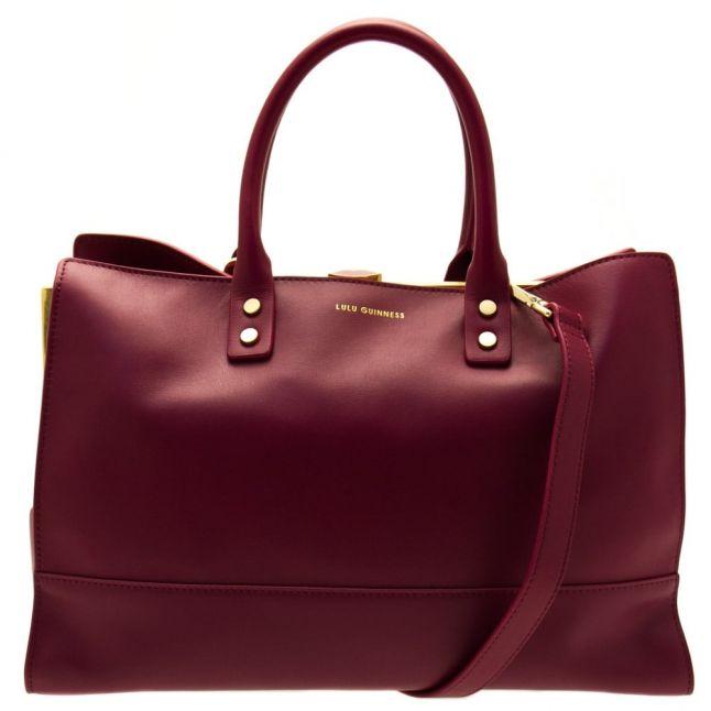 Womens Cassis Daphne Leather Medium Bag