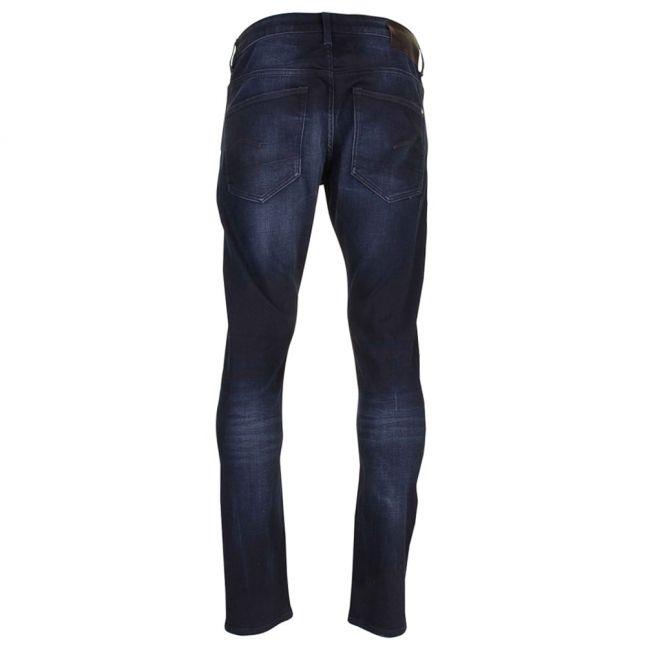 Mens Dark Aged Siro 3301 Slim Fit Jeans