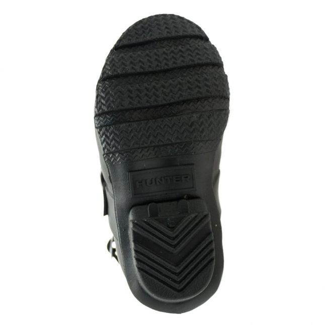 Kids Black Original Biker Boots (6-11)