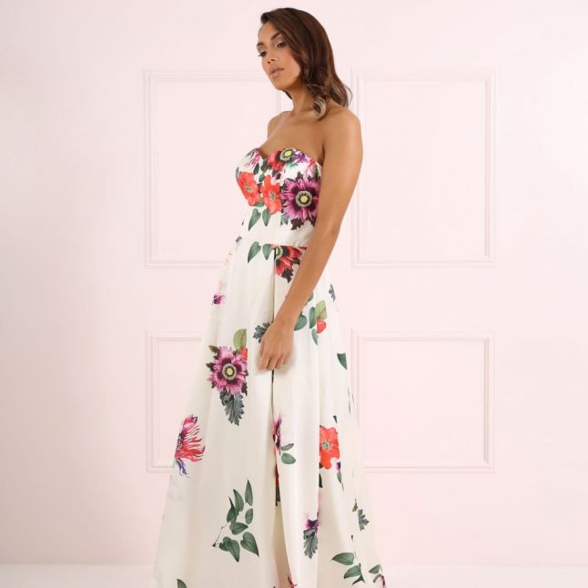 Womens Floral Betty Maxi Dress