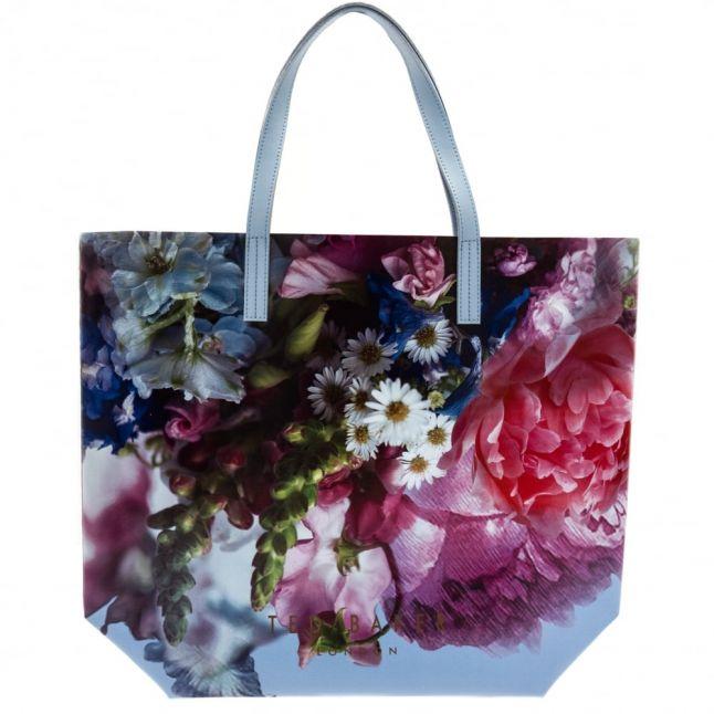 Womens Powder Blue Nellee Large Shopper Bag
