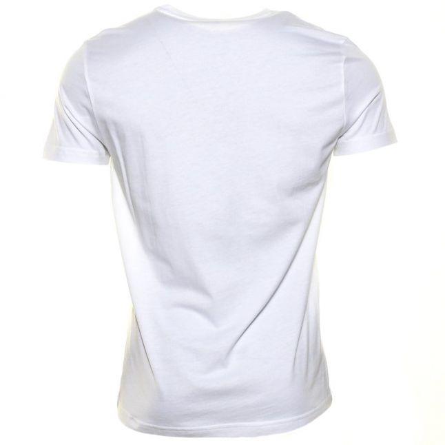 Mens White Classic Crew S/s T Shirt