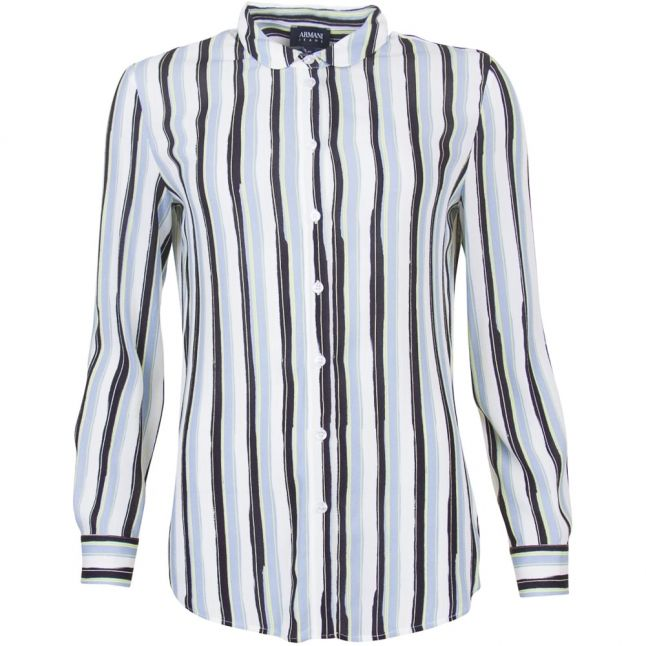 Womens Multi Stripe L/s Shirt