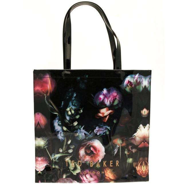 Womens Mid Grey Schocon Shadow Floral Large Icon Bag