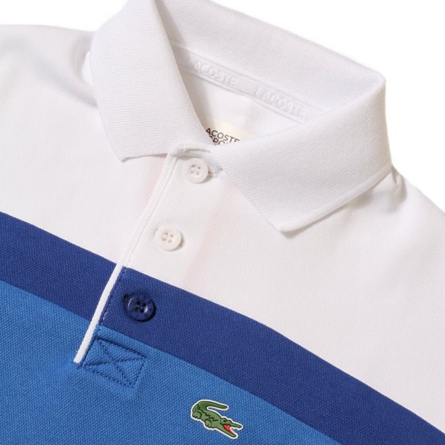 Boys Victorian & Royal Colour Block S/s Polo Shirt