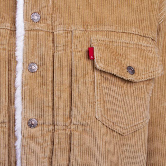 Womens Iced Coffee New Heritage Cord Trucker Jacket