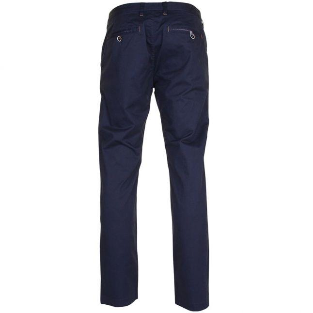 Mens Navy Exmoor Chino Trousers