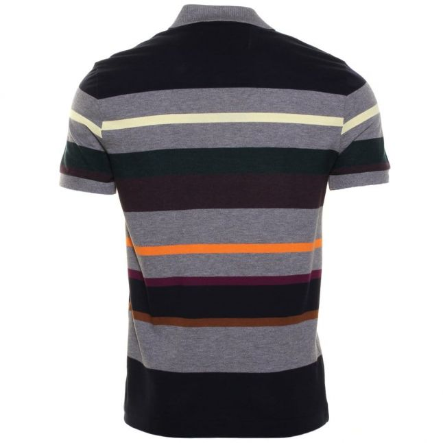 Mens Assorted Striped Regular Fit S/s Polo Shirt