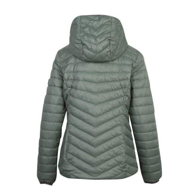 Womens Tussock Ringside Hooded Quilted Jacket
