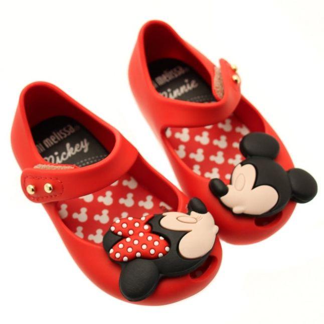 Walt Disney Girls Red Ultragirl Minnie Mouse 16 (4-9)