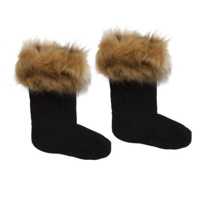 Kids Tawny Faux Fur Cuff Boot Socks