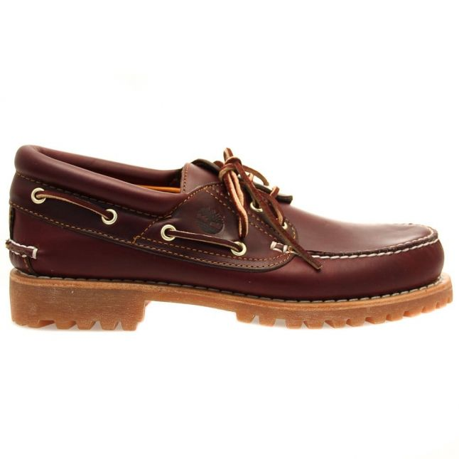 Mens Burgundy Earthkeepers® Classic Boat Shoes