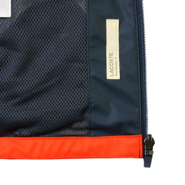 Boys Etna Red & Blue Colour Block Jacket