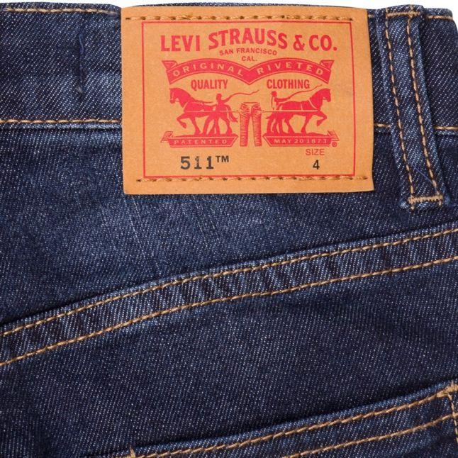 Levis® Boys Indigo 511 Bermuda Shorts