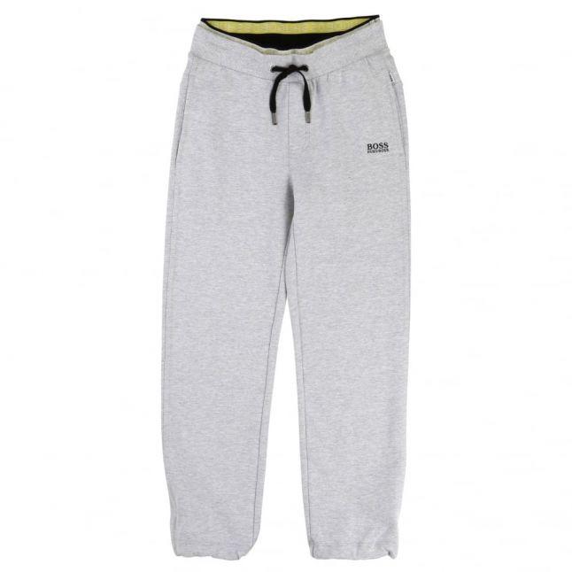 Boys Grey Branded Jog Pants