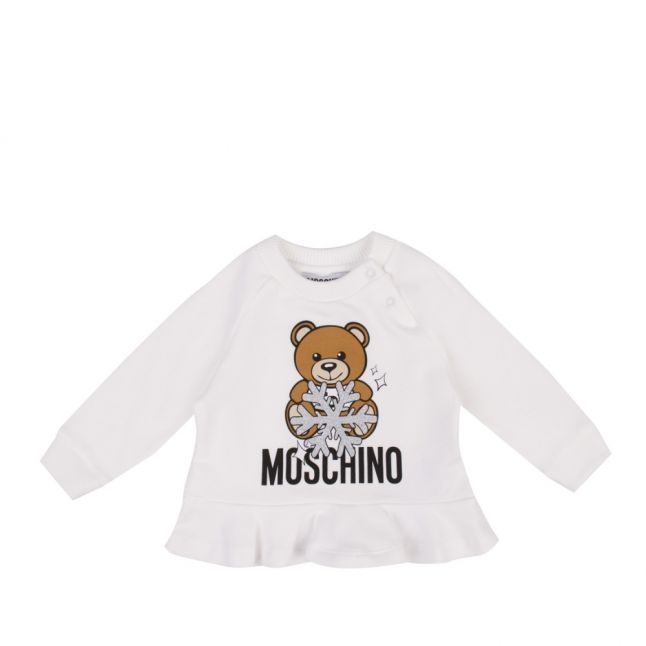 Baby Cloud Toy Snowflake Sweat Top