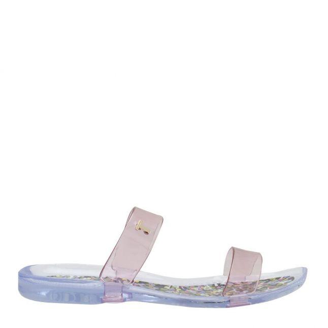 Womens Light Pink Jellei Juniper Jelly Slides