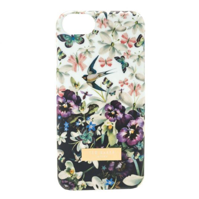 Womens Navy Bijoux iPhone Case