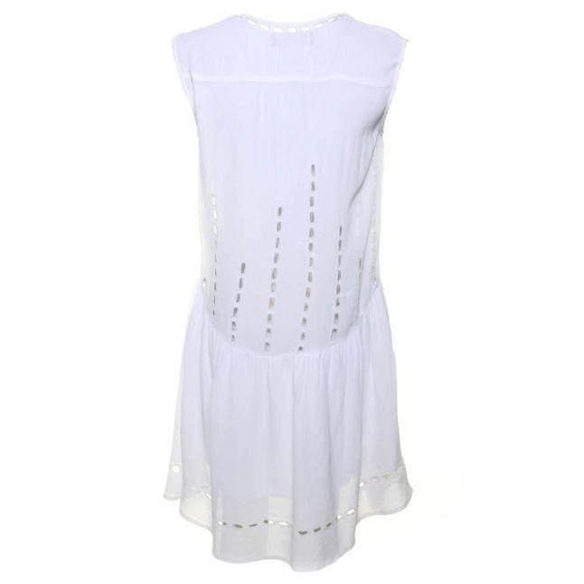 Womens White Mask Dress