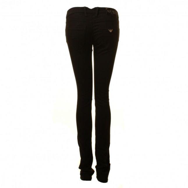 J40 Skinny Jeans in Black