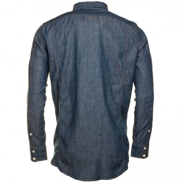 Mens Rinsed 3301 Denim L/s Shirt