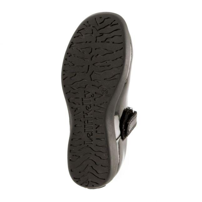 Girls Black Mandy E Fit Shoes (24-35)