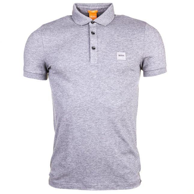 Mens Light Grey Pavlik S/s Polo Shirt