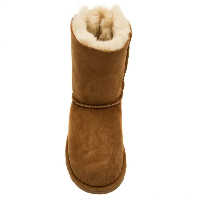 Kids Chestnut Bailey Bow Boots (12-3)
