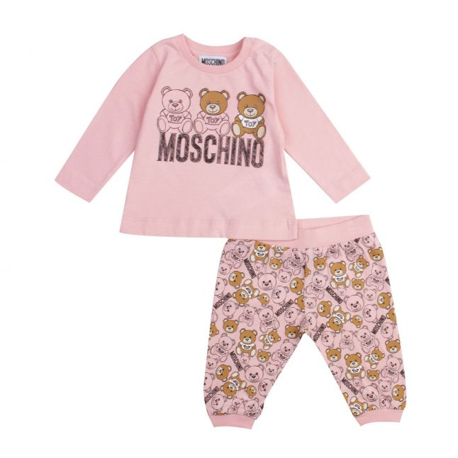 Moschino Baby Sugar Rose Toy Top & Bottoms Set