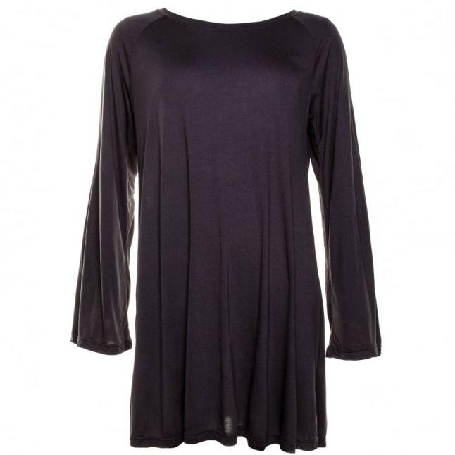 Womens Dark Metal Constrict Dress