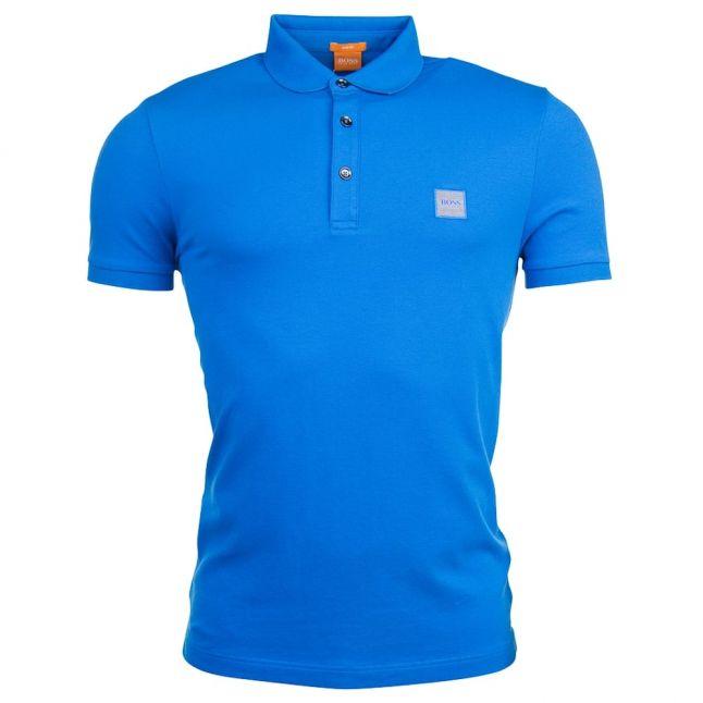 Mens Bright Blue Pavlik S/s Polo Shirt