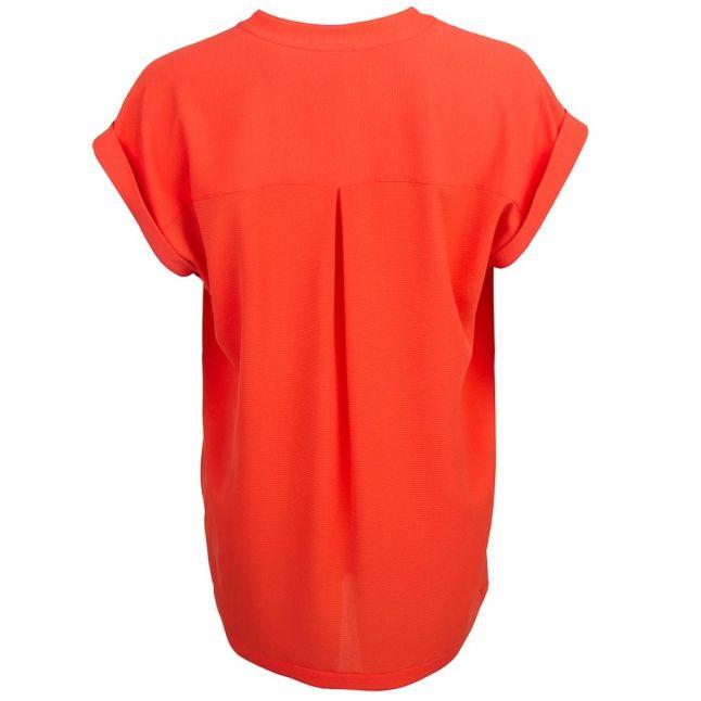 Womens Mandarin Lace Up Top
