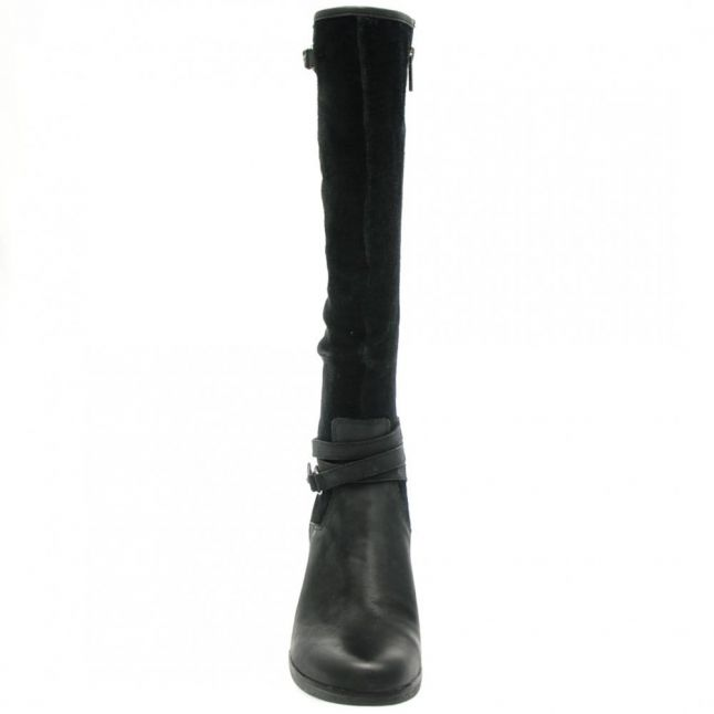 Australia Womens Black Lesley Wedge Boots