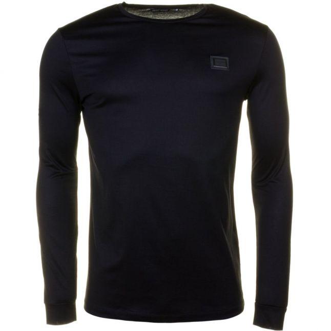 Mens Black Badge Black Label L/s Tee Shirt