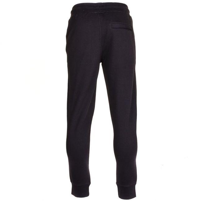 Mens Black Cuffed Jog Pants