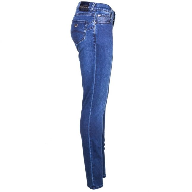 Womens Blue Wash J23 Push Up Skinny Fit Jeans