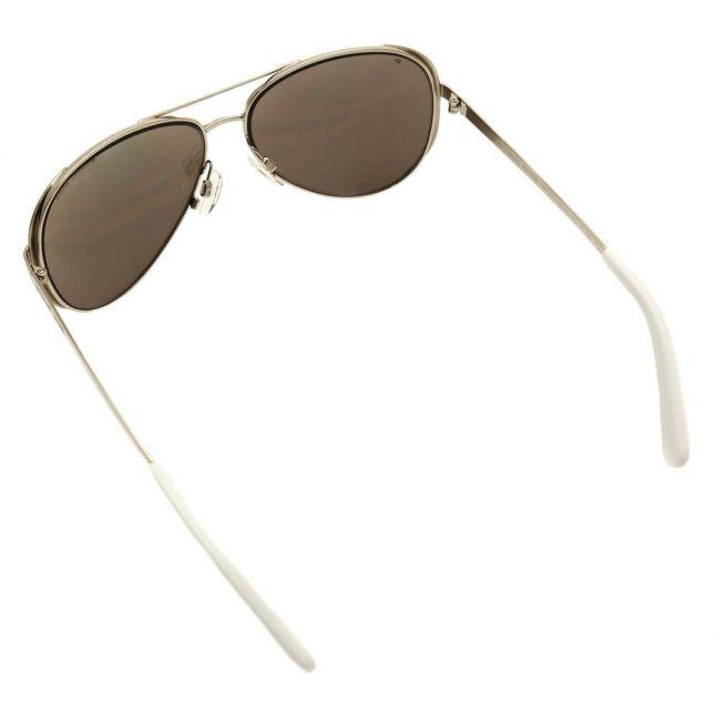 Womens Silver Mirror Polarized Chelsea Sunglasses